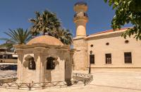 TheTurkish mosque in Ierapetra.