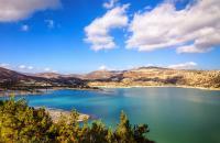 Bramiana lake in Ierapetra.
