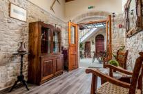 Immerse yourself in a comfortable armchair in our reception area and browse the albums for Crete. Loan a poetic collection and let go of the magic of words and photographs. At Cretan Villa we created a small library with well-known works by Greek poe