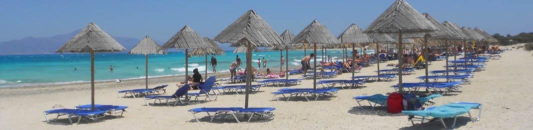 Chrissi Island (Gaidouronisi) in Ierapetra Crete